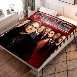 NCIS Characters Fleece Blanket Throw Bed Set