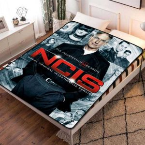 NCIS TV Series Fleece Blanket Throw Quilt