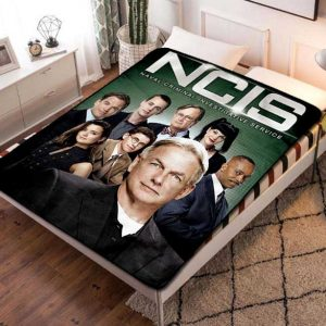 NCIS Fleece Blanket Throw Quilt