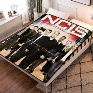 NCIS TV Shows Fleece Blanket Throw Quilt