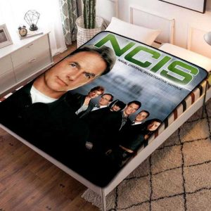 NCIS Fleece Blanket Quilt