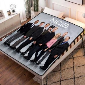 NCIS TV Shows Fleece Blanket Throw Bed Set