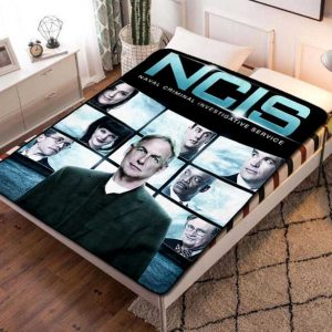 NCIS TV Shows Fleece Blanket Quilt