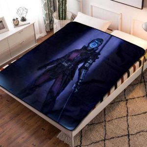 Nebula Guardian Of The Galaxy Quilt Blanket Fleece Bed Set