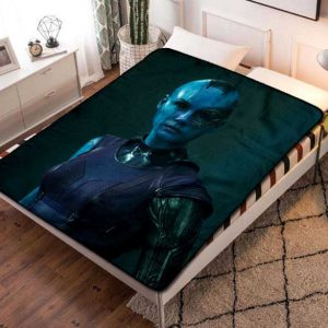 Nebula Guardian Of The Galaxy Fleece Blanket Throw Bed Set