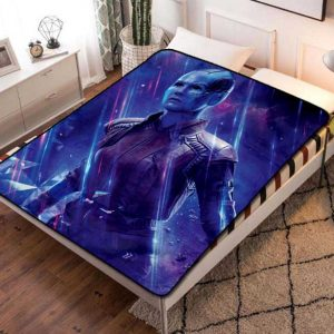 Nebula GOTG Fleece Blanket Throw Bed Set