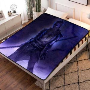 Nebula Fleece Blanket Throw Quilt