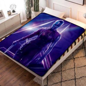 Chillder Nebula Blanket. Nebula Fleece Blanket Throw Bed Set Quilt Bedroom Decoration.