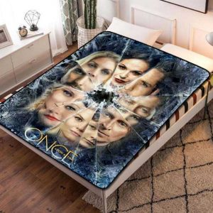 Once Upon a Time TV Shows Fleece Blanket Throw Bed Set