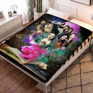 Once Upon a Time Shows Fleece Blanket Throw Quilt