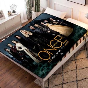 Once Upon a Time Characters Fleece Blanket Throw Bed Set