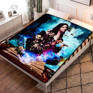 Once Upon a Time Fleece Blanket Throw Bed Set