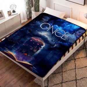 Once Upon a Time TV Series Fleece Blanket Throw Bed Set