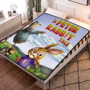 Peter Rabbit Characters Fleece Blanket Throw Bed Set