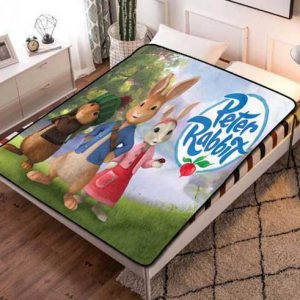 Peter Rabbit Fleece Blanket Quilt