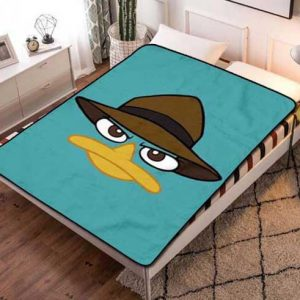 Phineas and Ferb Perry Fleece Blanket Quilt
