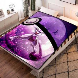 Pokemon Fleece Blanket Throw Bed Set
