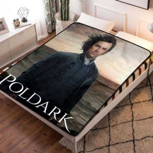 Poldark Shows Fleece Blanket Throw Quilt