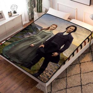 Poldark Series Fleece Blanket Quilt