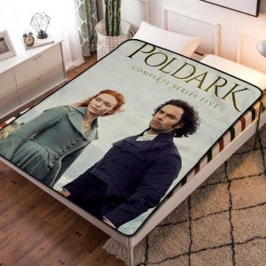 Poldark Series Five Fleece Blanket Throw Bed Set