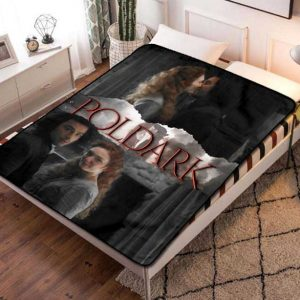 Poldark TV Shows Fleece Blanket Throw Bed Set