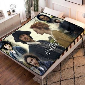 Poldark Fleece Blanket Throw Quilt