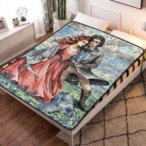 Chillder Poldark Blanket. Poldark Fleece Blanket Throw Bed Set Quilt Bedroom Decoration.