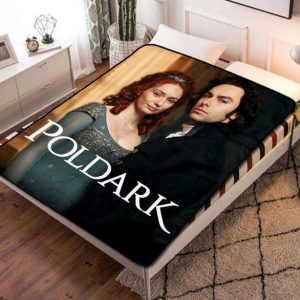 Poldark Series Fleece Blanket Throw Quilt
