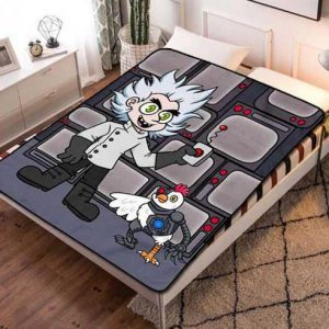 Robot Chicken kids Fleece Blanket Throw Quilt