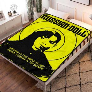 Russian Doll Poster TV Series Fleece Blanket Throw Bed Set