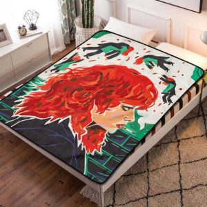 Russian Doll TV Series Fleece Blanket Throw Bed Set