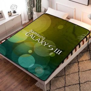 Samsung Galaxy Fleece Blanket Throw Quilt