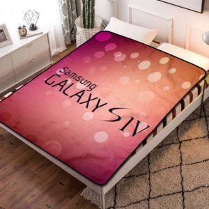 Samsung Fleece Blanket Throw Bed Set