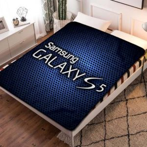 Samsung Galaxy S5 Quilt Blanket Fleece Throw