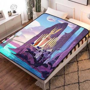 She-Ra and the Princesses of Power Castle Fleece Blanket Throw Quilt
