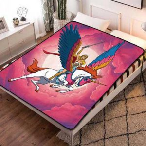 She-Ra and the Princesses of Power Characters Fleece Blanket Throw Bed Set