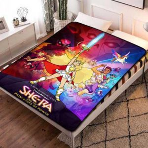 She-Ra and the Princesses of Power Poster Fleece Blanket Quilt