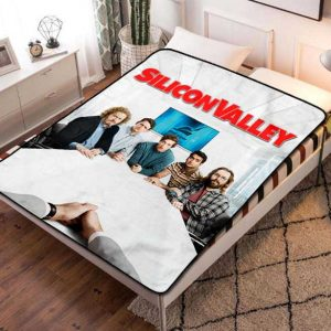 Silicon Valley TV Shows Fleece Blanket Quilt