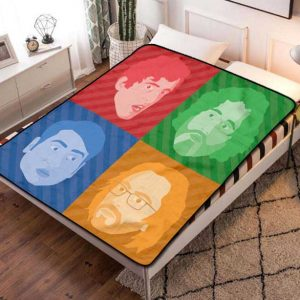 Silicon Valley Series Fleece Blanket Throw Quilt