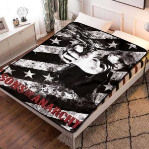Sons of Anarchy TV Shows Fleece Blanket Throw Quilt
