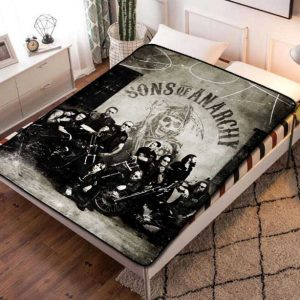 Sons of Anarchy TV Series Fleece Blanket Throw Bed Set