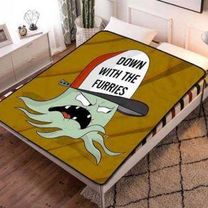 Squidbillies Fleece Blanket Throw Quilt