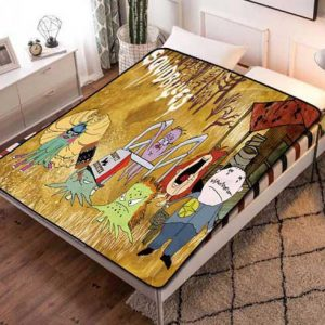 Squidbillies Characters Fleece Blanket Quilt