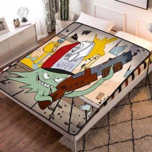 Squidbillies Cartoon Fleece Blanket Throw Quilt