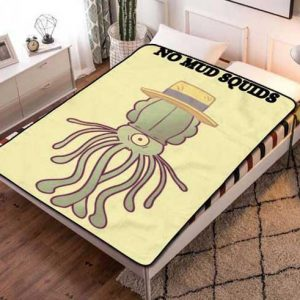 Squidbillies Fleece Blanket Throw Bed Set