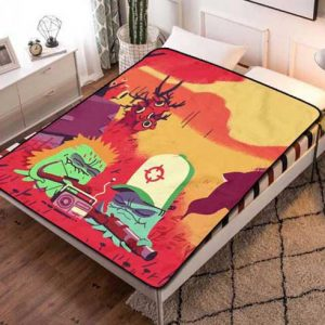 Squidbillies Fleece Blanket Quilt