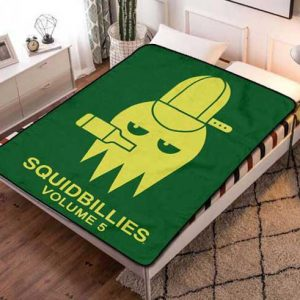 Squidbillies Volume 5 Fleece Blanket Quilt