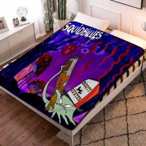Squidbillies Characters Fleece Blanket Throw Bed Set