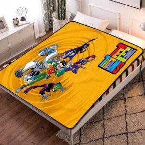 Teen Titans Fleece Blanket Throw Quilt