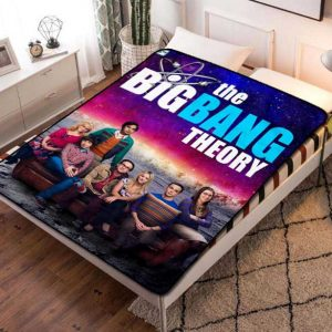 The Big Bang Theory TV Shows Quilt Blanket Fleece Throw